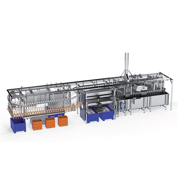 Compact poultry processing plant 1200