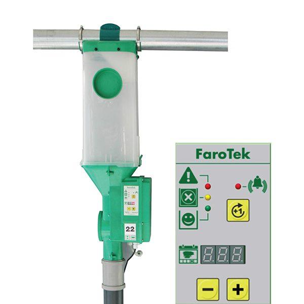 Hệ thống ăn cho cá thể heo nái đẻ dạng điện tử Farotek